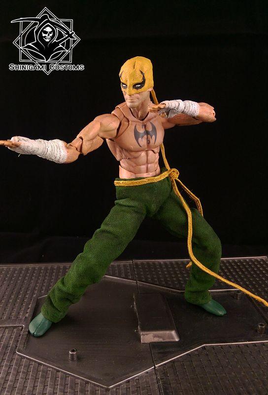 Iron Fist - Immortal Weapon (Avengers) Custom Action Figure