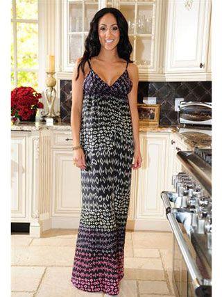 melissa gorga book tour | Melissa Gorga shows Us Weekly her kitchen wearing Gypsy 05