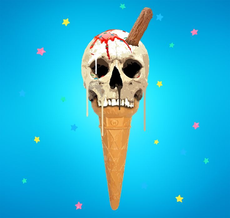 Memento Mori 99 Price £225.00  By Carl Moore  Print: 50 x 47.5 cm  Paper: 55 x 55 cm Hand embellished with metallic paints.  Giclee on Hahnemhule FineArt 310gsm Paper  Edition of 50  Collection : The Ice Cream Project