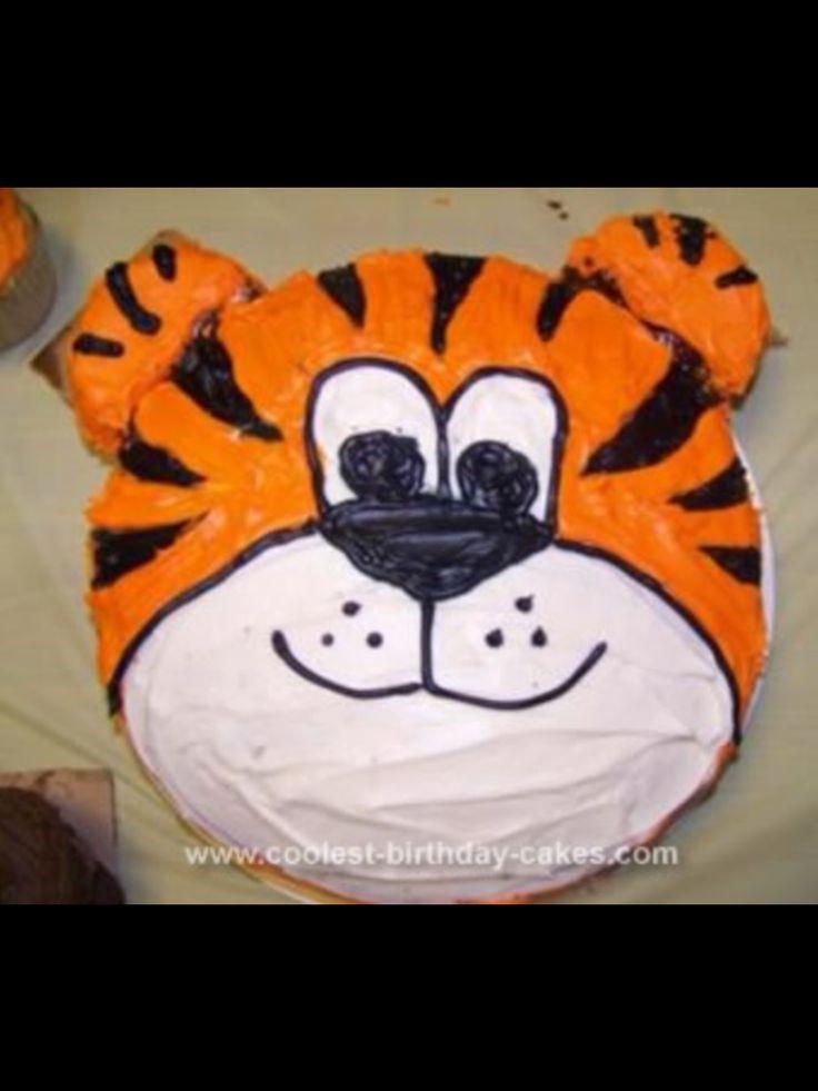 Cute Tiger Cake!!