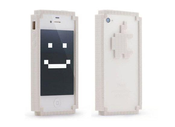8bit Pixel iphone Bumpers