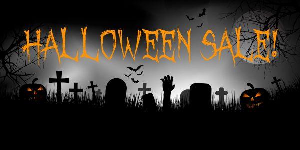 Großer #Halloween #Sale bis 01.11.2016 - bis zu 20% #Cashback!