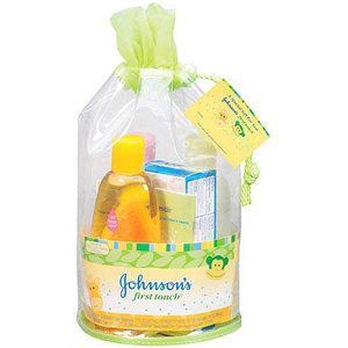 Have one to sell? Sell now JOHNSON'S FIRST TOUCH BABY BATH GIFT SET NEW IN BAG  $14.99