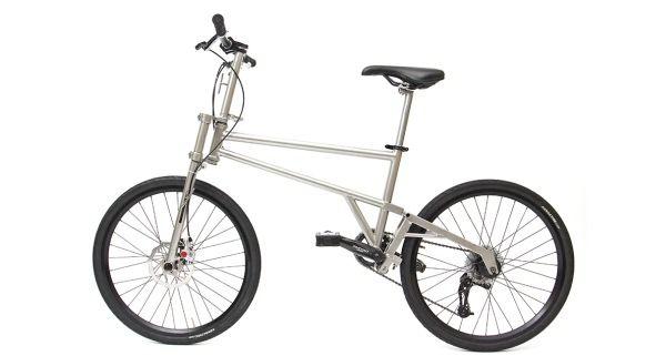 """""""ほぼタイヤサイズ""""の折り畳み自転車「HELIX」 [えん乗り]"""