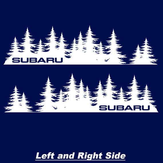 These Custom Subaru forest silhouette Decals are Cut from high quality exterior grade 651 Oracal Vinyl on a professional plotter, these decals will stick great to any clean and smooth surface, Vehicle window, door, bumper, anywhere!  Vinyl decals can be installed in just 3 or 4 minutes and look great on most any application! (Simple instructions are included with your order as well) We use Oracal 651 because its exterior rated and is used by sign companies on vehicles and out door signs due…