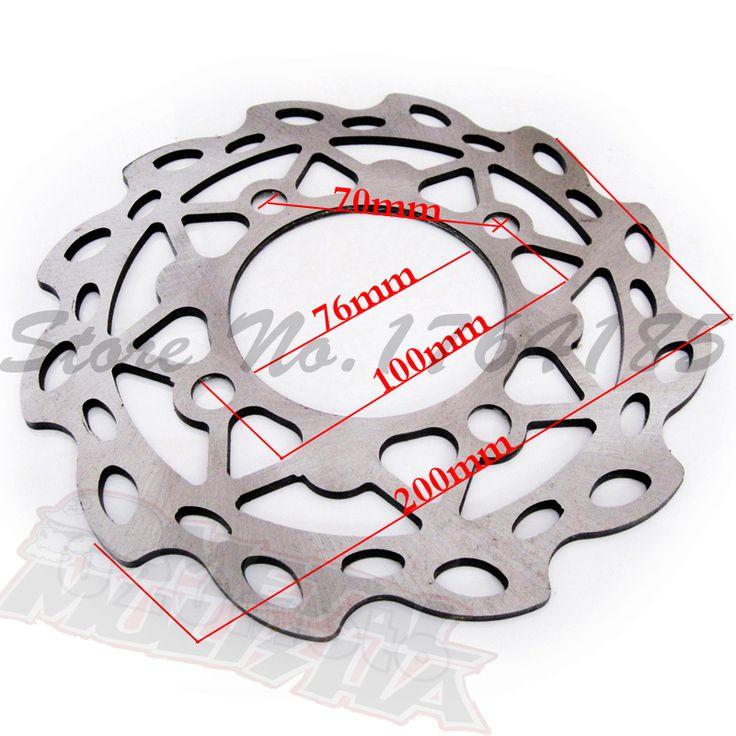 $21.05 (Buy here: https://alitems.com/g/1e8d114494ebda23ff8b16525dc3e8/?i=5&ulp=https%3A%2F%2Fwww.aliexpress.com%2Fitem%2F200mm-steel-dirt-bike-disc-Front-brake-disc-for-110cc-125cc-Pit-bike-parts-Cheap-Mini%2F32345855132.html ) 200mm steel dirt bike disc Front brake disc for 110cc/125cc Pit bike parts Cheap Mini motocross brake rotor  for just $21.05