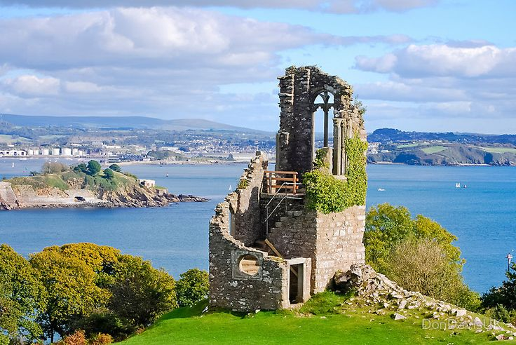 The Folly: Plymouth from Mount Edgcumbe by DonDavisUK. Have you got space for something like this in your garden?