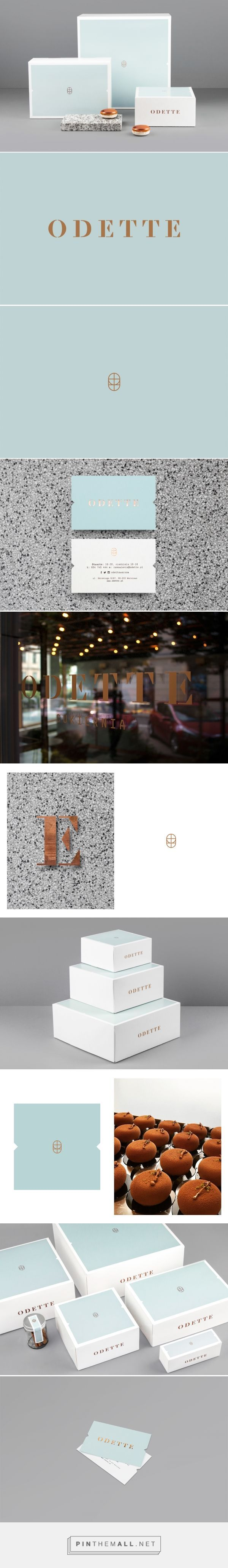 Odette | Dmowski & Co. #branding #packaging #identity