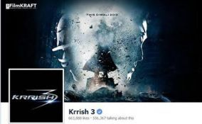 Krrish 3 - first bollywood movie Facebook fan page verified  http://www.radioandmusic.com/content/editorial/news-releases/krrish-3-first-bollywood-movie-facebook-fan-page-verified