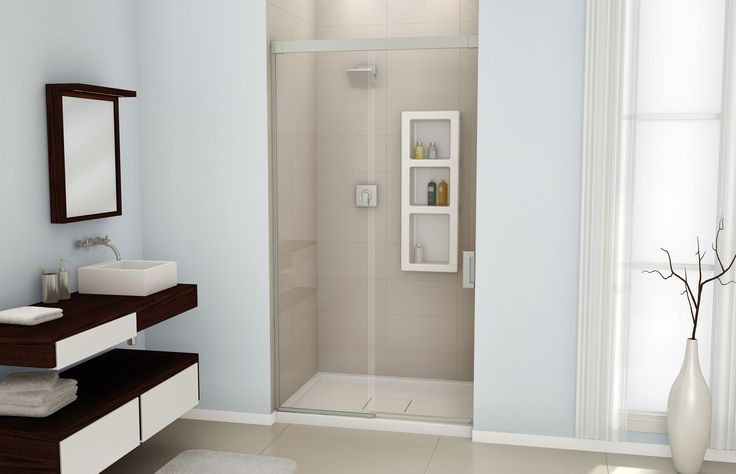 Evidence 4836 a glass enclosures or alcove shower for Bathroom alcove ideas