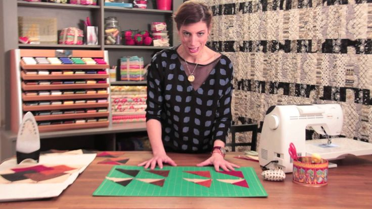 Quilty: How to Make a Card Trick Quilt Block.  A great video on how to construct the Card Trick Quilt Block.  I could do without the demonstrators sound effects but  good instructions.  Peace, Robert from nancysfabrics.com