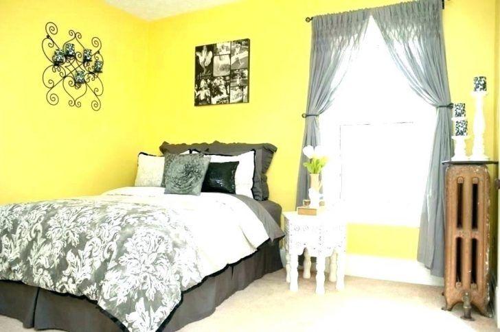 Atemberaubende Gelb Und Grau Schlafzimmer Deko Ideen Yellow