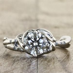 Non-traditional engagement rings for alternative brides ...