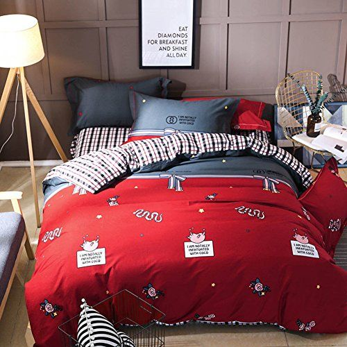 Ren Yang Bedding Set Collection Bed Sheet Duvet Cover Set Thicken