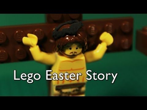 ▶ Easter 2015  Lego Easter Story (Jesus' Death & Resurrection)   Teacher had to read story outloud