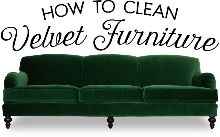 Velvet fabric can be a bit trickier to clean than other fabrics because, in addition to removing the stain, you must take care to avoid