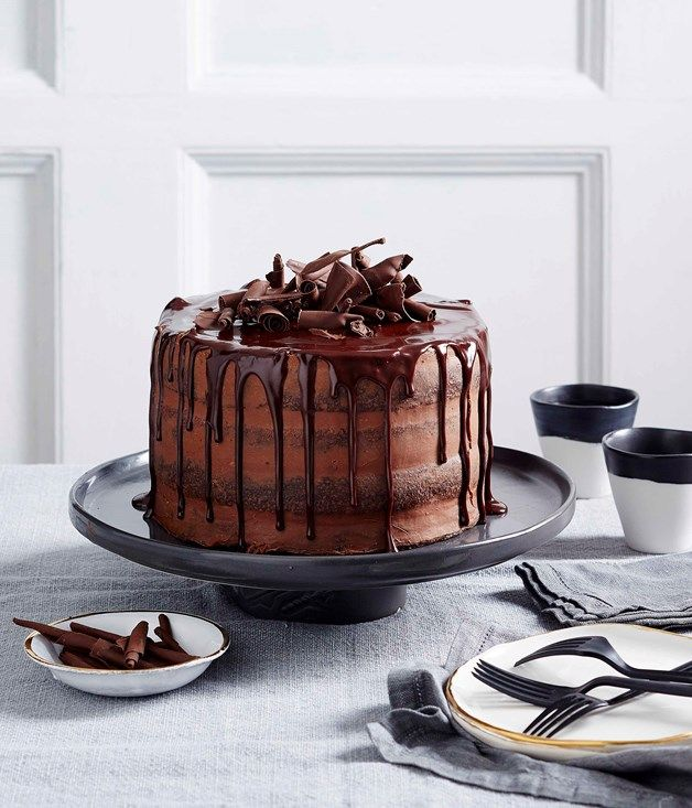 Emma Knowles creates a chocolate truffle layer cake using Lindt chocolate