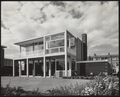 Theissing House Utrecht, by Gerrit Rietveld (1959)