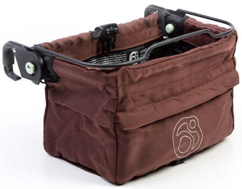 (Open Box) Orbit Baby Stroller Panniers - Mocha/Khaki