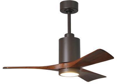 Matthews Fan Company Patricia 3 Blade Ceiling Fan with Light
