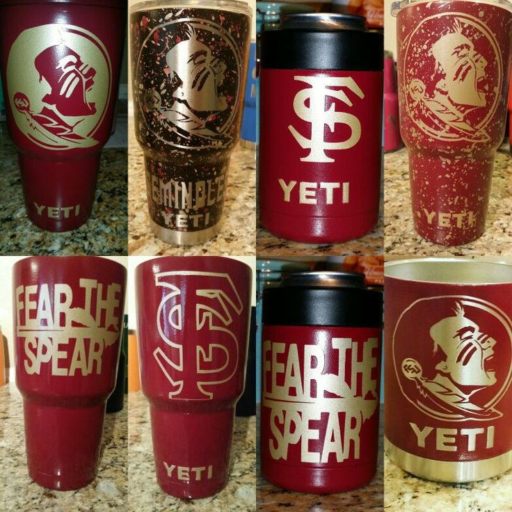 FSU Customized Yeti Florida State University