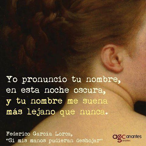 Poema A Federico Garcia Lorca De Trabalhos Acadêmicos