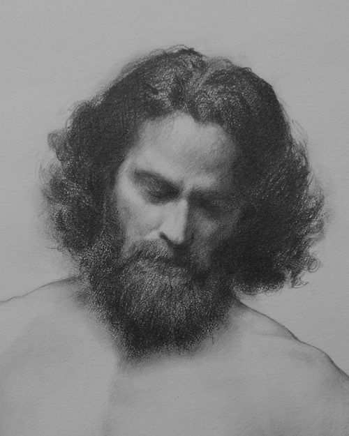Portrait of a beared man