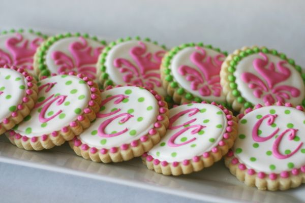 Cute cookies for a baby shower or birthday party!