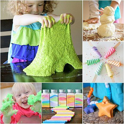 25 Recipes For Play - all the recipes you need for hours of creativity, fun and messy play | MollyMooCrafts.com