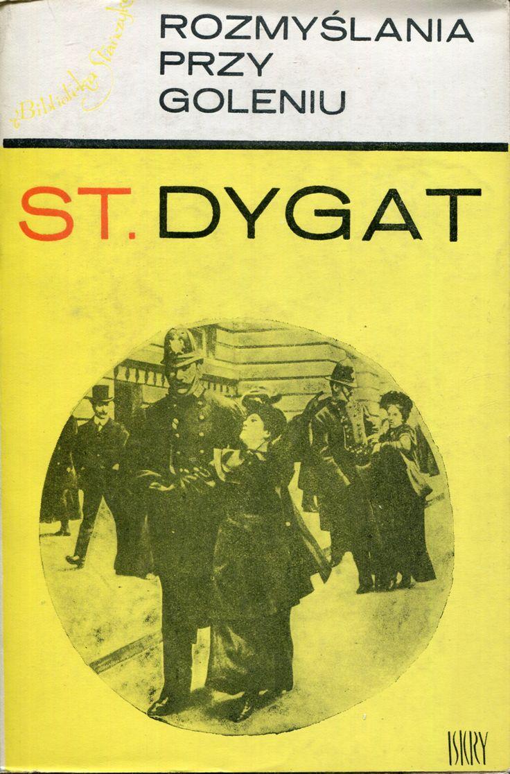 """""""Rozmyślania przy goleniu"""" Stanisław Dygat Cover by Henryk Tomaszewski"""