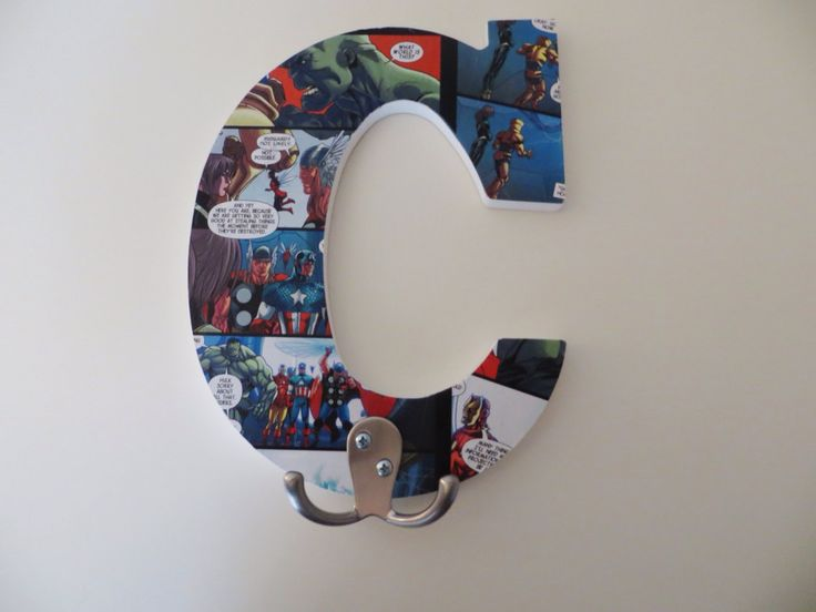 Exceptional The Avengers Towel/robe Hook For Bathroom By LolasLetters On Etsy, $12.00