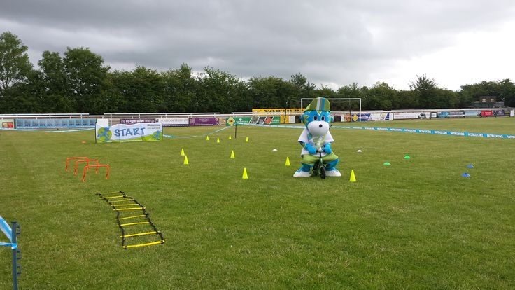 Had a great time with my Strider Bike UK balance bike on Sunday 12th July at Leamington FC Family Fun Day.