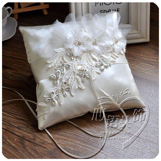 Xinyu Корейский Прошейте бутик подушку кольцо подушки ухода свадьба поставок церемонии фотографии поддержать кольцо подушку - Taobao