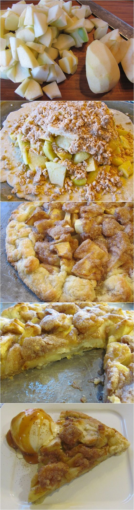 Crostata de manzana