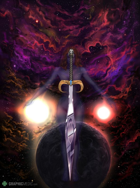 The Saga of Lyn cover illustration