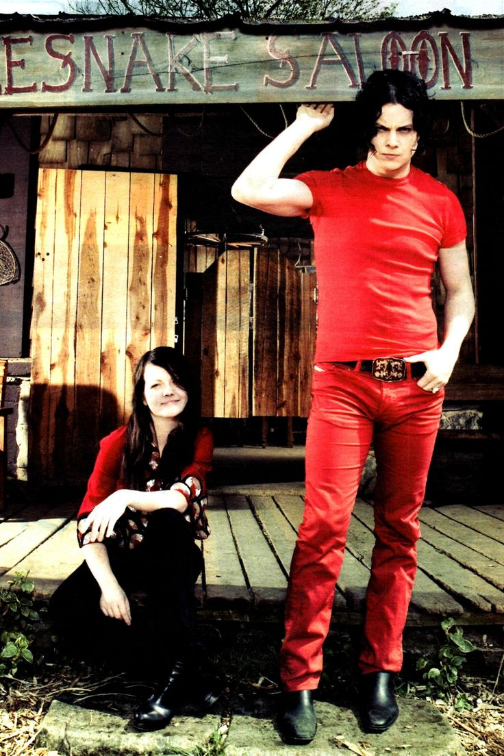 The White Stripes. Another blues influenced rock band that i love.