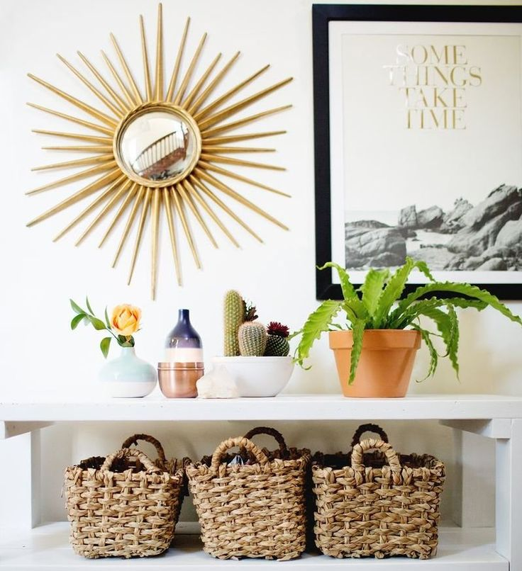 Home decor ideas from waste material wall