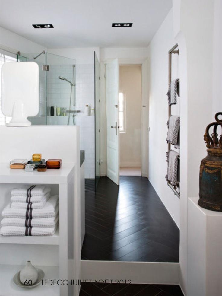 40 best dark floor white walls images on pinterest  my