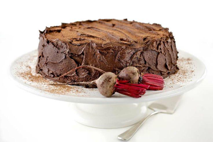 Chocolate beetroot cake