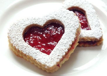 Linzer Heart Sandwich Cookies 2 by Alex Guarnaschelli