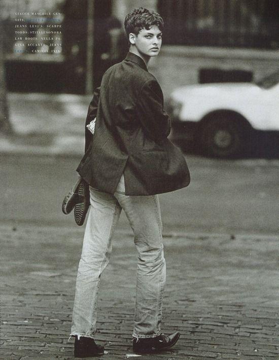 vogue italia october 1989 linda lindbergh-4