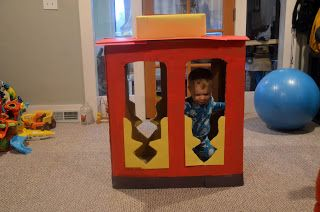 Daniel Tiger Toddler Birthday Party- Trolley and Other Decorations- Sunshine Guerrilla