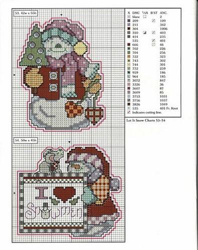 murzilka1019 - «78 xmas ornaments charts 53-54.jpg» on Yandex