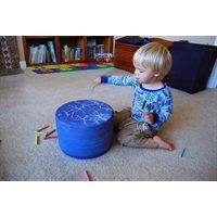Kodo Kids™ Chalk Spinner - Tubby Spin - Table Top - he Chalk Spinner is an interactive element that engages children in play and learning. This spinning chalkboard encourages artistic exploration and creativity, while developing dexterity, coordination and fine motor skills.