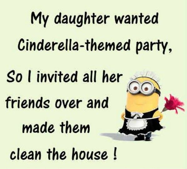 Cute Comical Minions pics with quotes (11:22:32 AM, Monday 03, August 2015 PDT) – 10 pics