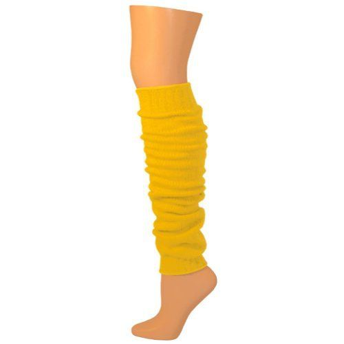 "AJs 23"" Leg Warmers - Gold Yellow-M AJs. $18.24"