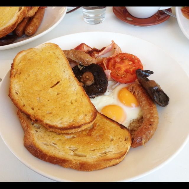 Mum's big breakfast at Blu Water Grill (Hornsby)