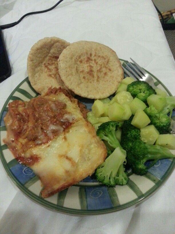 Beef Lasagna..Dinner..x