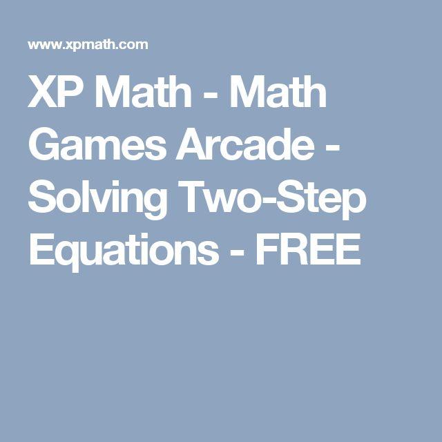 xp math math games arcade solving two step equations free math solving equations. Black Bedroom Furniture Sets. Home Design Ideas