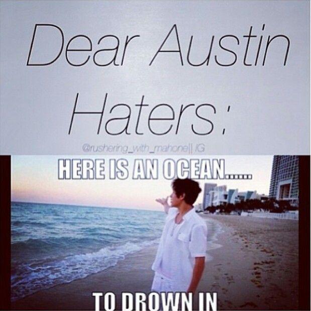 Bye Bye Haters. Lol
